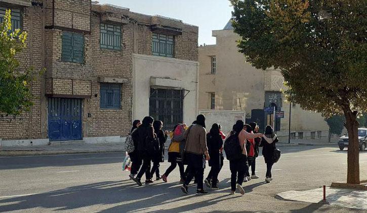 تعطیلی برخی از مدارس شیراز