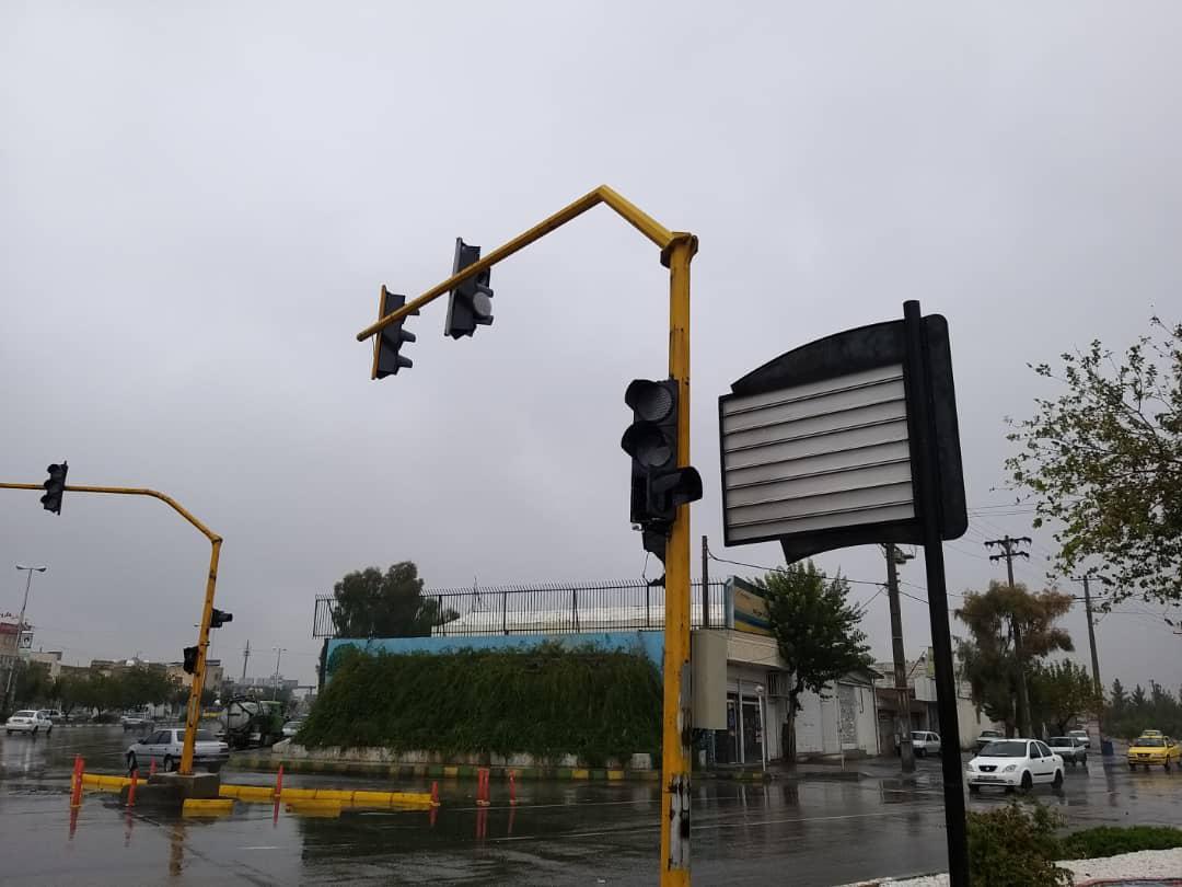 راه اندازی مجدد تجهیزات ترافیکی در شیراز