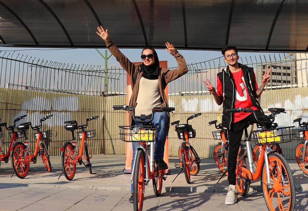 آغاز فعالیت دوچرخههای هوشمند در شیراز