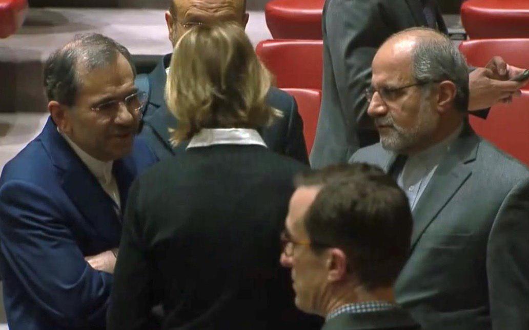 گفتوگوی سفیران آمریکا و ایران در سازمان ملل