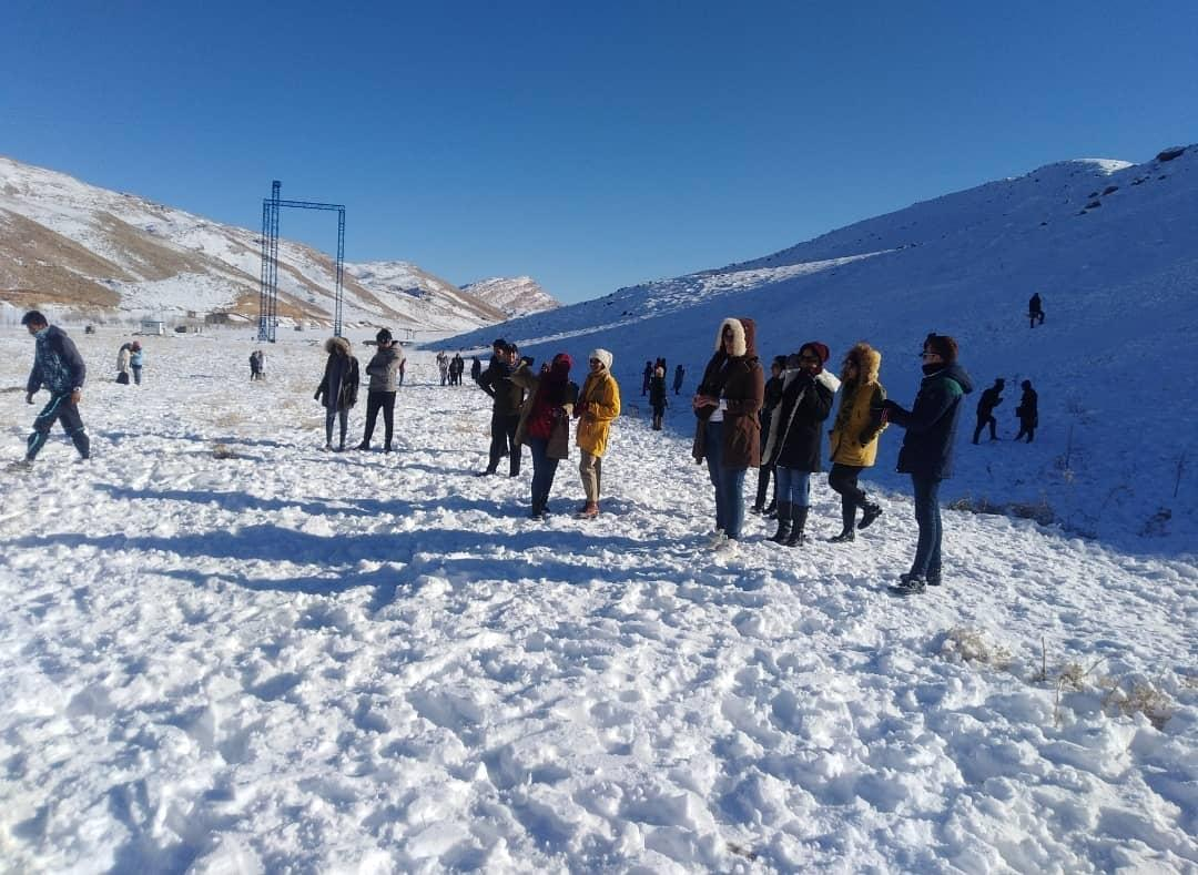 مصدومیت ۳۰۰ نفر در مجموعه تفریحی زمستانی سپیدان