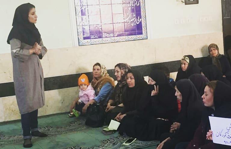 آموزش حقوق کودکان در محلههای کوزهگری و دهپیاله شیراز