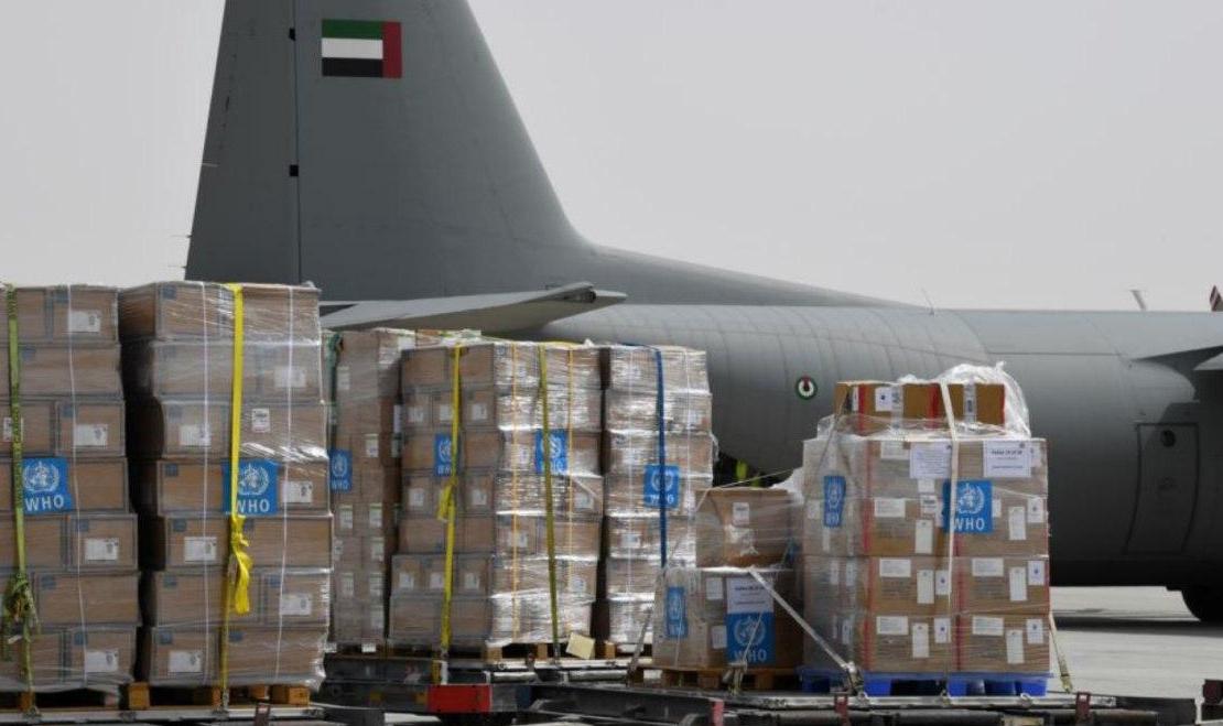 تیم سازمان جهانی بهداشت با ۷.۵ تن تجهیزات مبارزه با کرونا وارد ایران شد