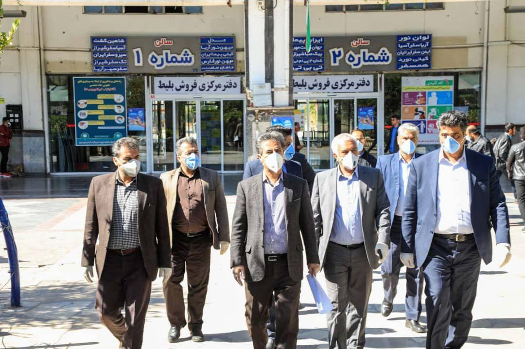 شهردار شیراز: انتقال مسافر از شهرهای کانون کرونا به شیراز متوقف شود