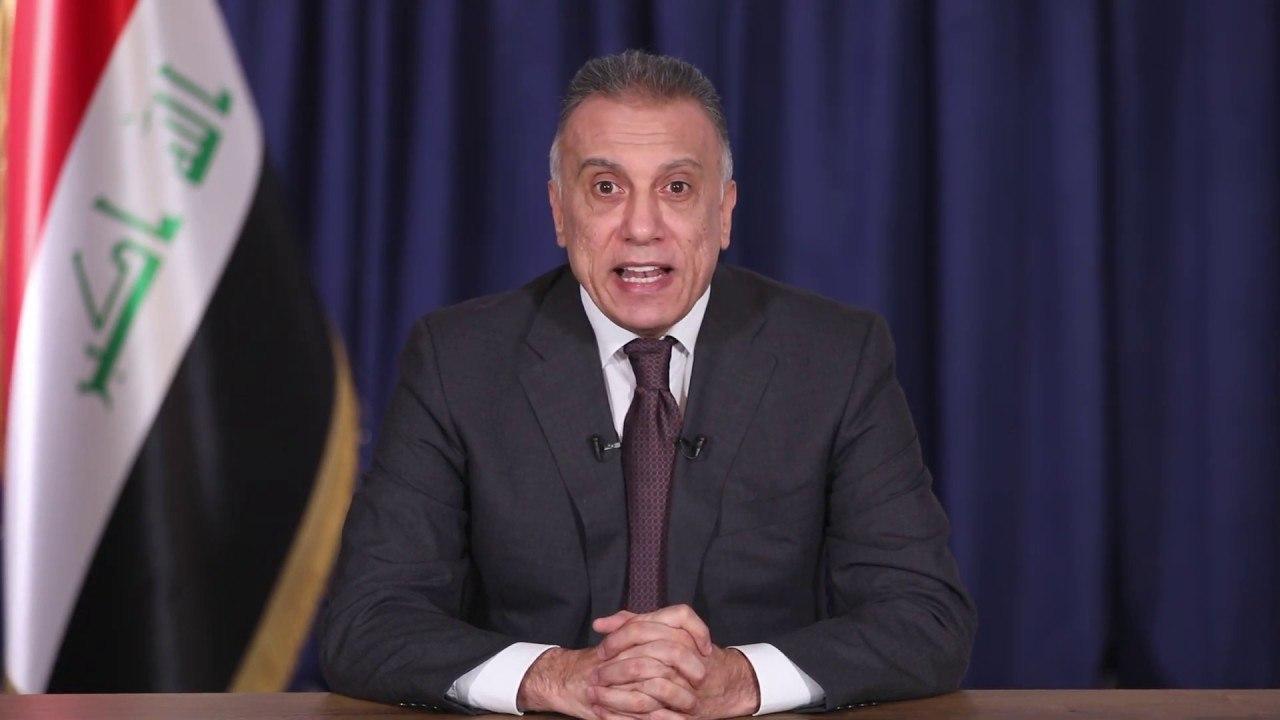 نخست وزیر جدید عراق در اولین نطق تلویزیونی: باید عراق را از بحرانها و جنگهای پوچ دور نگه داریم