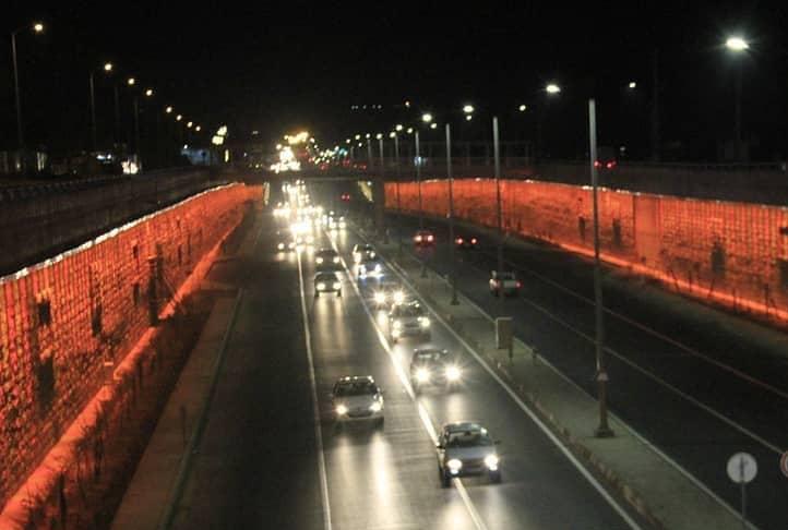 افتتاح طرح زیرگذر گلستان شیراز