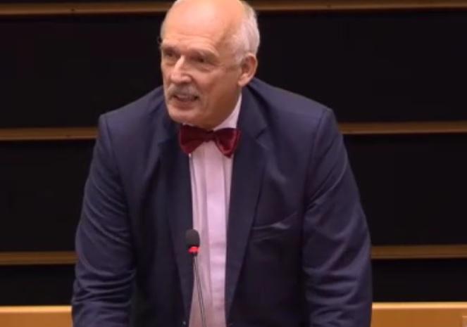 سخنان بحث برانگیز نماینده لهستان در پارلمان اروپا علیه زنان