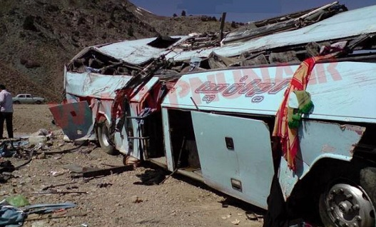 یک کشته و ۱۹ زخمی در اردوی «راهیان نور»