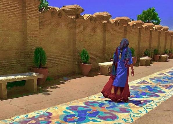 «گذر گوته» در مجاورت آرامگاه حافظ