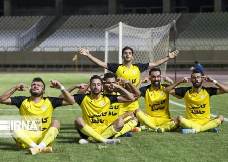 تیم فجر شیراز به لیگ برتر فوتبال راه یافت