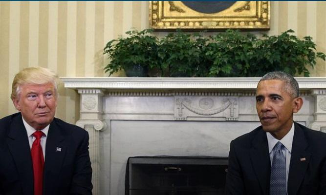 ترامپ: اوباما پشت حملات علیه من است