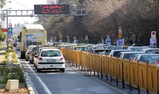 خودروهای فرسوده؛ عامل آلودگی هوا در شیراز