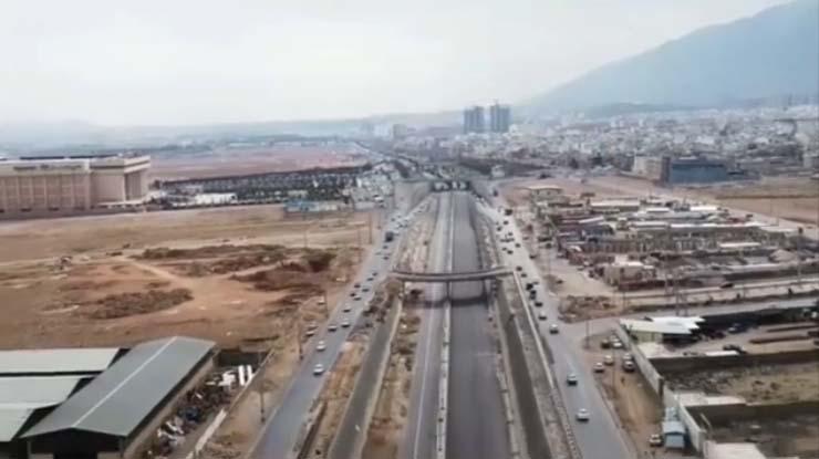 پایان بدنه سازی طولانیترین زیرگذر شیراز